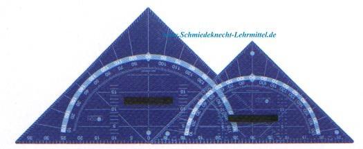 Geodreieck, FOCON,  60cm, Plexiglas