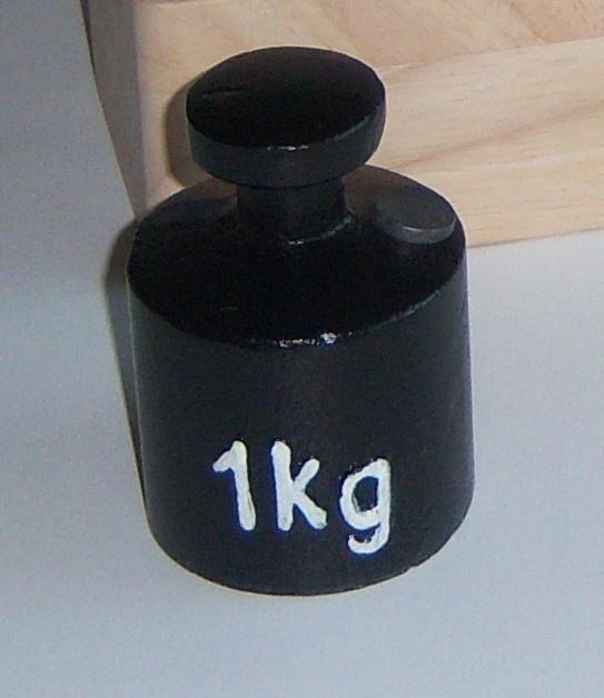 Einzelgewicht 1,0kg