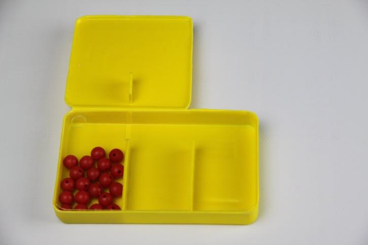 Split-Box für Schüler mit 20 roten Kugeln