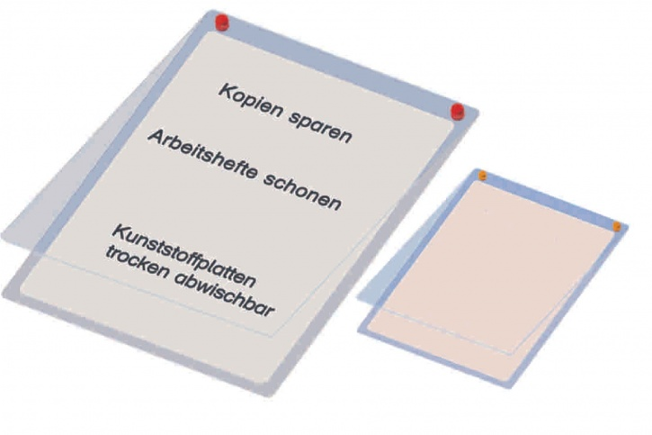 Überhangtafel für DIN A5 Formate