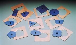 Montessori-Formen, aus Kunststoff