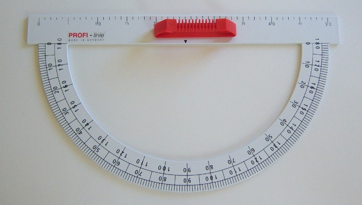 PROFI-linie - Winkelmesser 180°, 50 cm