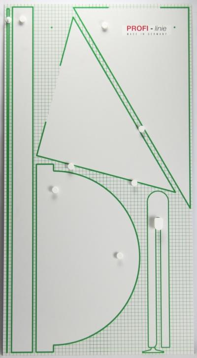 Gerätetafel, Geräteplatte, ohne Geräte