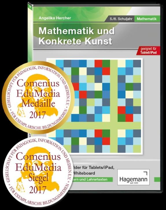 Interaktive Tafelbilder Mathematik und konkrete Kunst tabletfähig, Schullizenz