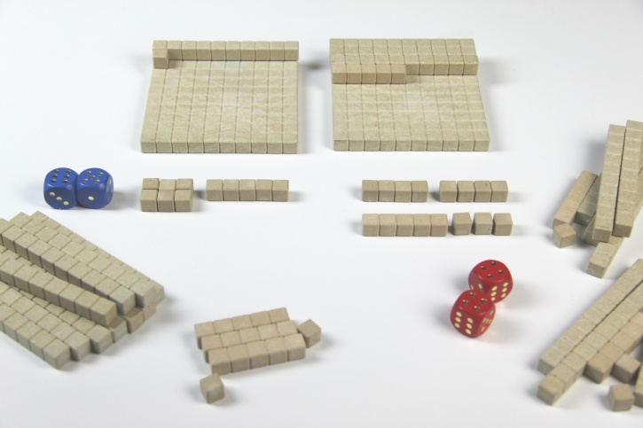 Mathespiel - Hunderterraum