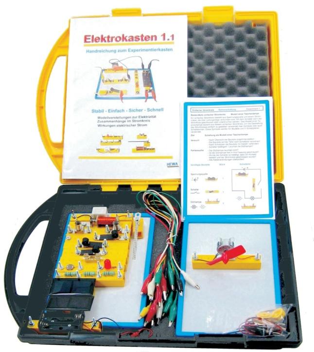 Elektrobaukasten 1.1 Grundlagen und Solartechnik im Kunststoffkoffer