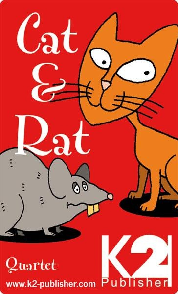 Quartett - Lernspiel: Cat and Rat