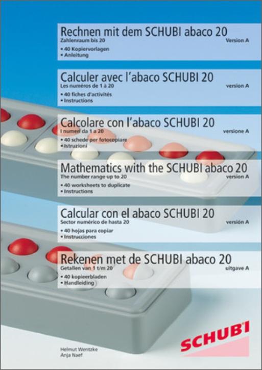 Rechnen mit dem Abaco bis 20 (Modell A)