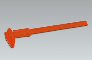 Messschieber, cm-Skala, Kunststoff, 150 mm
