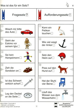 Bergedorfer Colorclips, Grammatik 4
