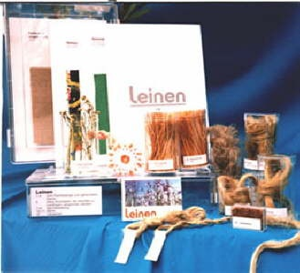 Lehrkassette Fasern: Flachs / Leinen