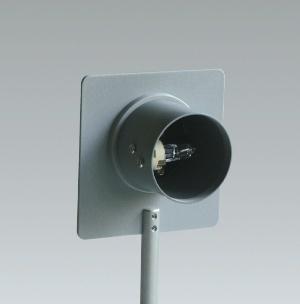 Optikleuchte mit Niederdruck-Halogenlampe 12 V/20 W