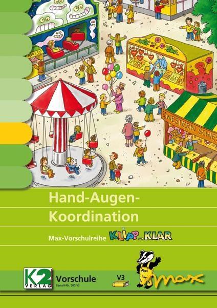 Max Lernkarten: Hand-Augen-Koordination