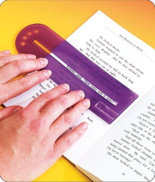 Lesefenster, 10er Satz aus Kunststoff
