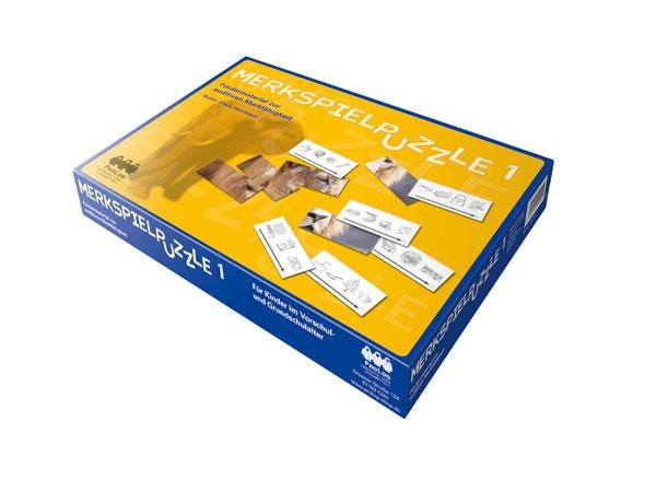 Merkspielpuzzles-Set, Sparangebot