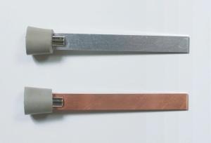 Satz Elektroden Zink und Kupfer für U-Rohre