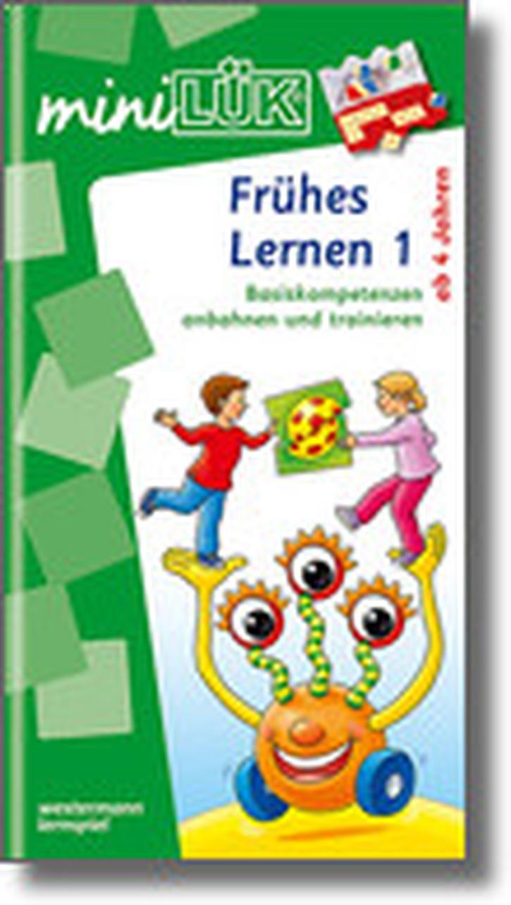 mini-Lük Heft Frühes Lernen 1, Basiskompetenzen