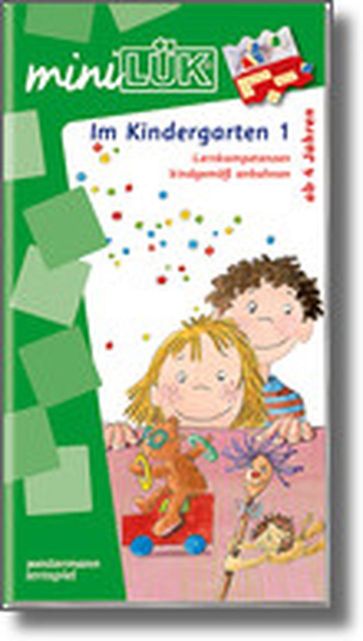 mini-Lük Heft Im Kindergarten 1, Lernkompetenzen