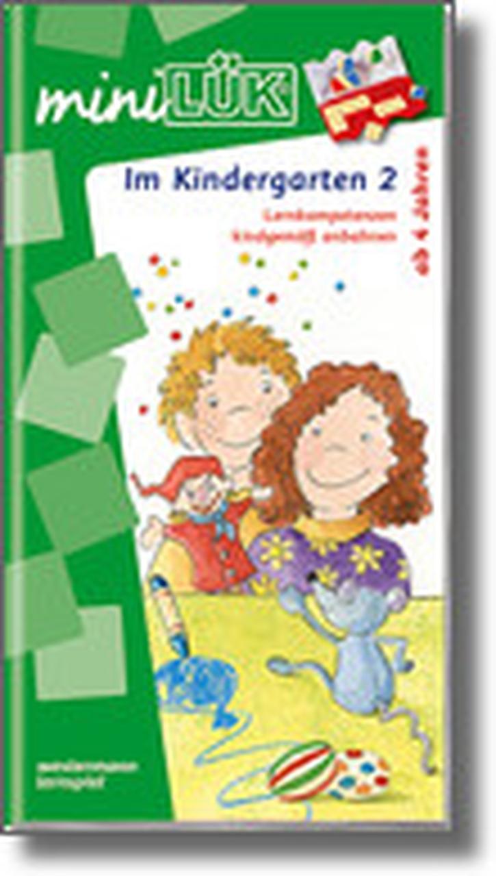 mini-Lük Heft Im Kindergarten 2, Lernkompetenzen