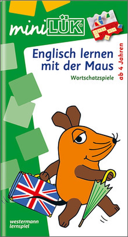 mini-Lük Heft Learning English mit der Maus