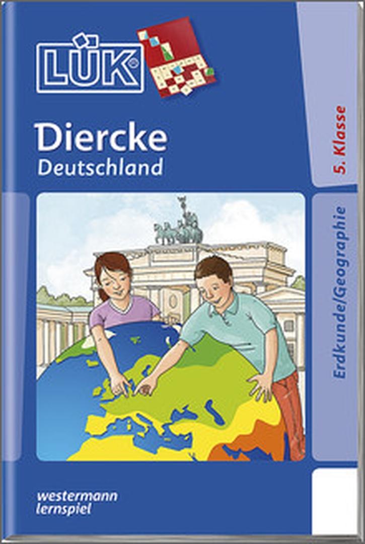 Lük-Heft Diercke Deutschland