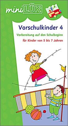 mini-Lük Heft Vorschulkinder 4