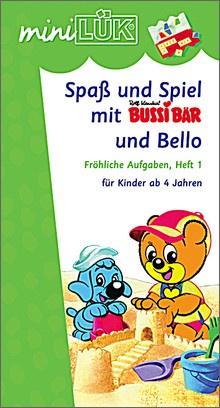 mini-Lük Heft Spaß und Spiel mit Bussi 1