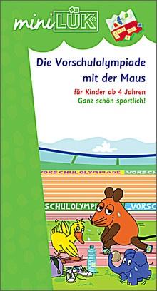 mini-Lük Heft Vorschulolympiade Maus 1
