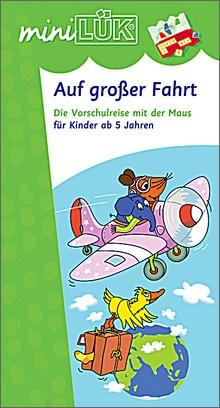 mini-Lük Heft Auf großer Fahrt mit Maus