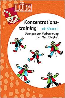 Lük-Heft Konzentrationstraining ab 1. Klasse
