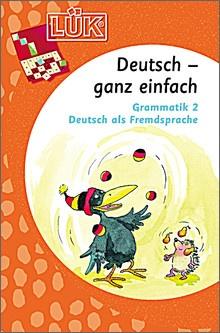 Lük-Heft Deutsch - ganz einfach 4