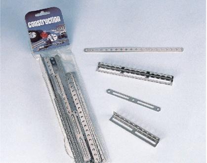 Ergänzungsbeutel C102, Flachstäbe und Platten  2 - 9 Loch
