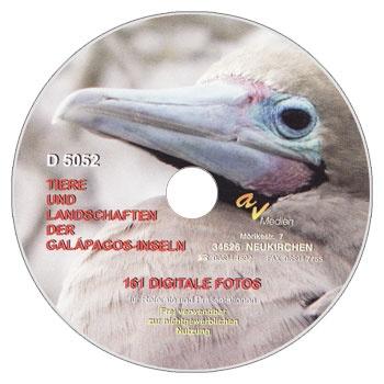 Foto-CD -Tiere und Landschaften der Galápagos-Inseln