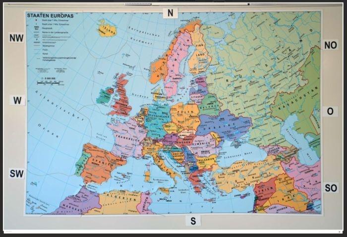 Europa, politisch, magnetisches XXL-Puzzle