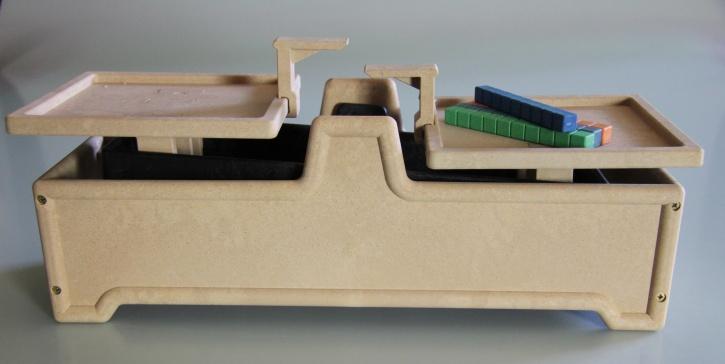 Tafelwaage 2 kg aus RE-Wood