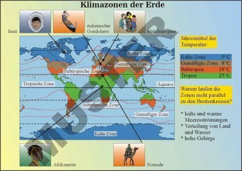 Digitale Folien auf CD, Klima und Vegetationszonen der Erde