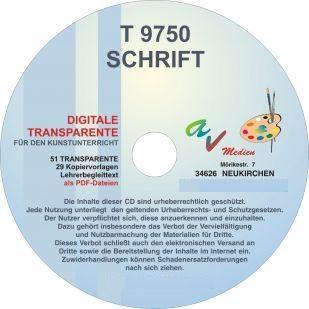 Digitale Folien auf CD – Schrift