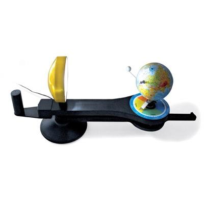 Orbit™ Tellurium, Modell von Sonne, Erde und Mond