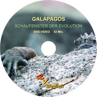 DVD-Video: Galápagos - Schaufenster der Evolution, 52 min
