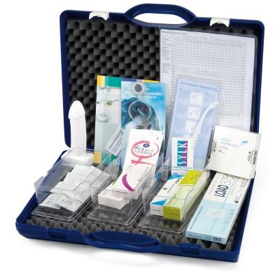 Verhütungsmittel-Koffer