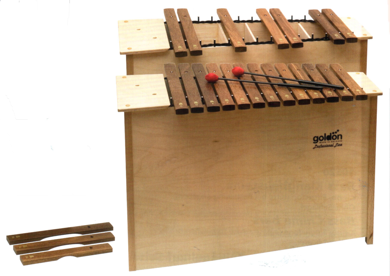 Set, Bass Xylophon, 13+3 Töne und chromatische Ergänzung zu 10220