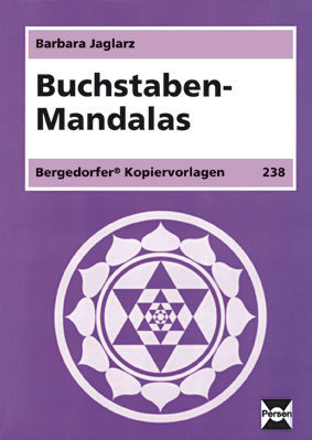 lehrmittel bergedorfer kopiervorlagen buchstaben mandalas p2271. Black Bedroom Furniture Sets. Home Design Ideas