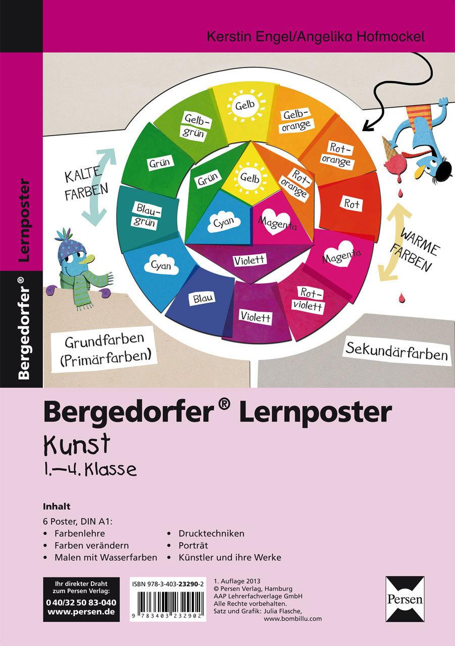 Lehrmittel Bergedorfer Kopiervorlagen Lernposter Kunst 1.-4. Klasse ...