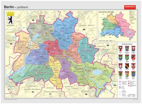 wandkarte westermann deutschland geografie geographie bundesland freistaat. Black Bedroom Furniture Sets. Home Design Ideas