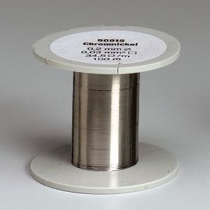 Chrom-Nickel-Draht, Durchmesser 0,3 mm, 100m blank auf Spule