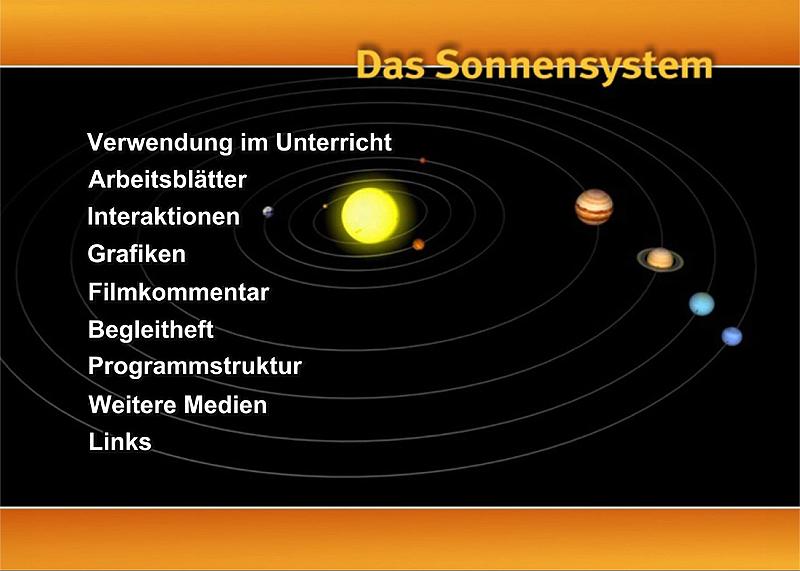 Lehrmittel Didaktische DVD Astronomie I Sonnensystem 978-3-623-42869-7