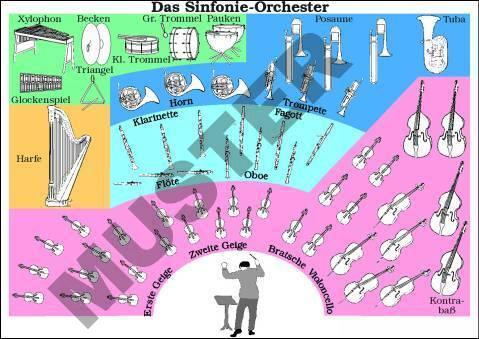 Lehrmittel Transparentsatz Das Sinfonie-Orchester T31201 kaufen