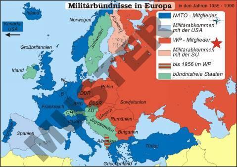 Kalter Krieg Karte.Tr Deutschlandpolitik Im Kalten Krieg