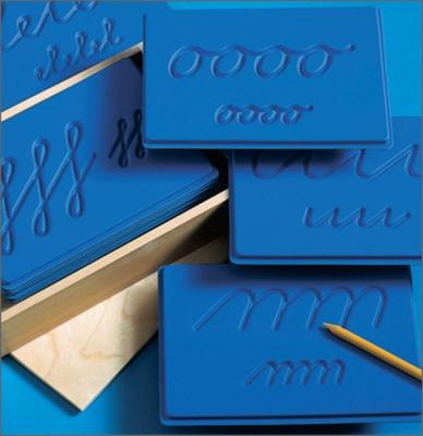 Schreibschwung-Schablonen