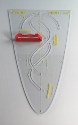 PROFI-linie - Parabelschablone 50 cm